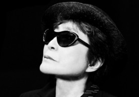 Yoko Ono, photo c/o Greg Kadel