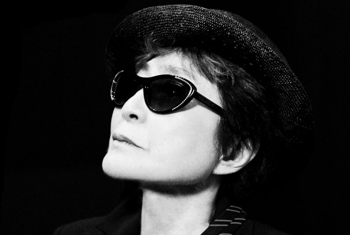 Yoko Ono, photo c/o Greg Kadel