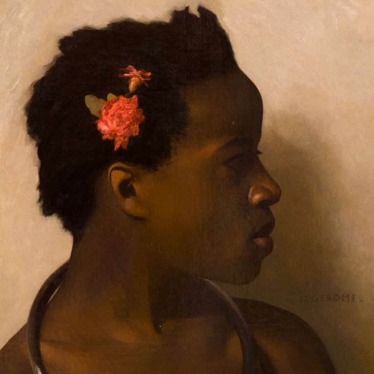 Jean-Léon Gerome, Slave in Cairo, courtesy Musee D'Orsay