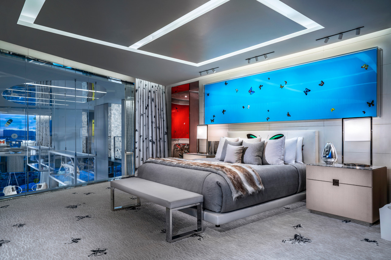 Damien Hirst's Empathy Suite at Palm Casino's Resorts