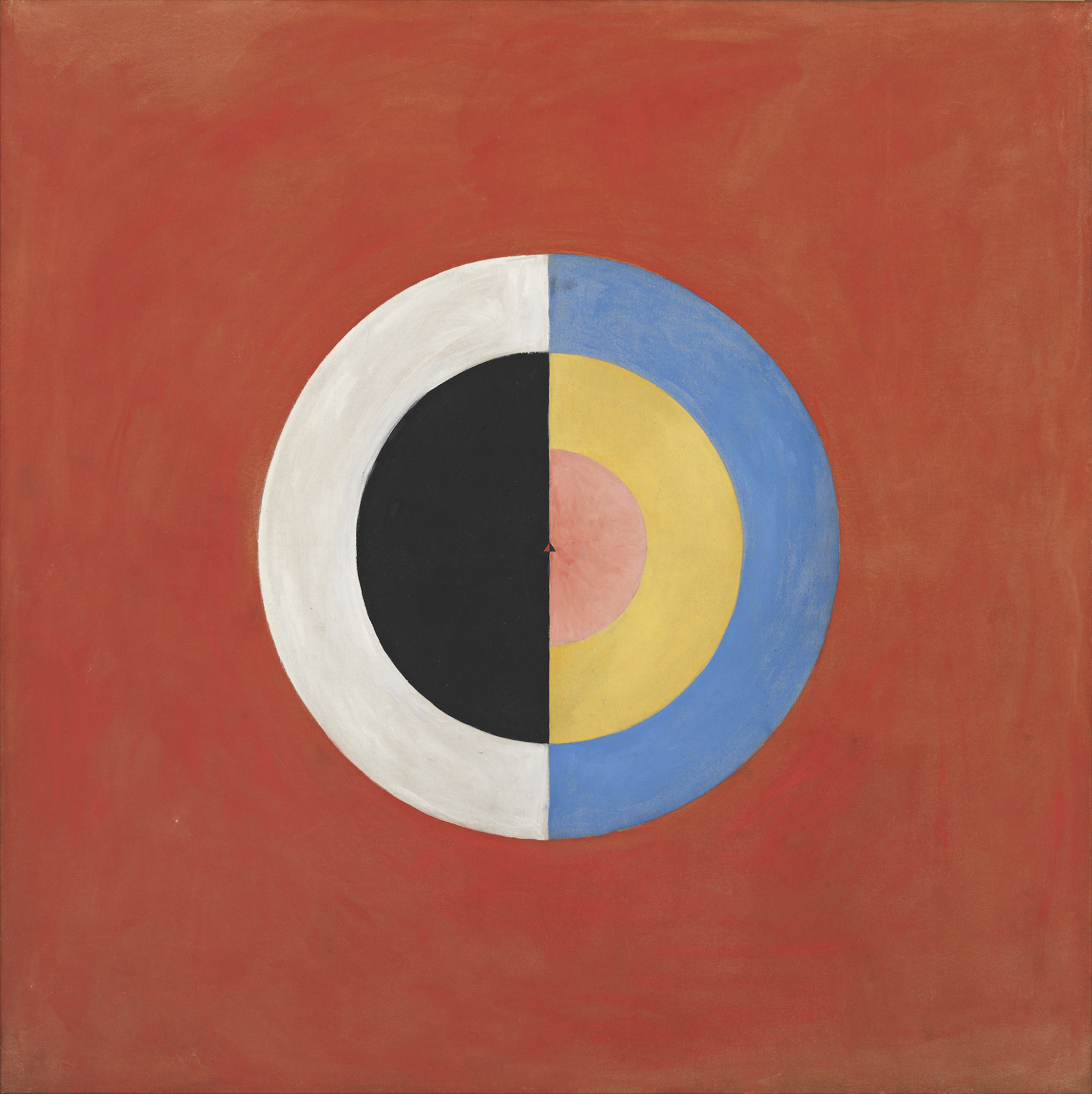 Hilma af Klint Group IX/SUW, The Swan, No. 17 (Grupp IX/SUW, Svanen, nr 17), 1915. Courtesy The Hilma af Klint Foundation, Stockholm