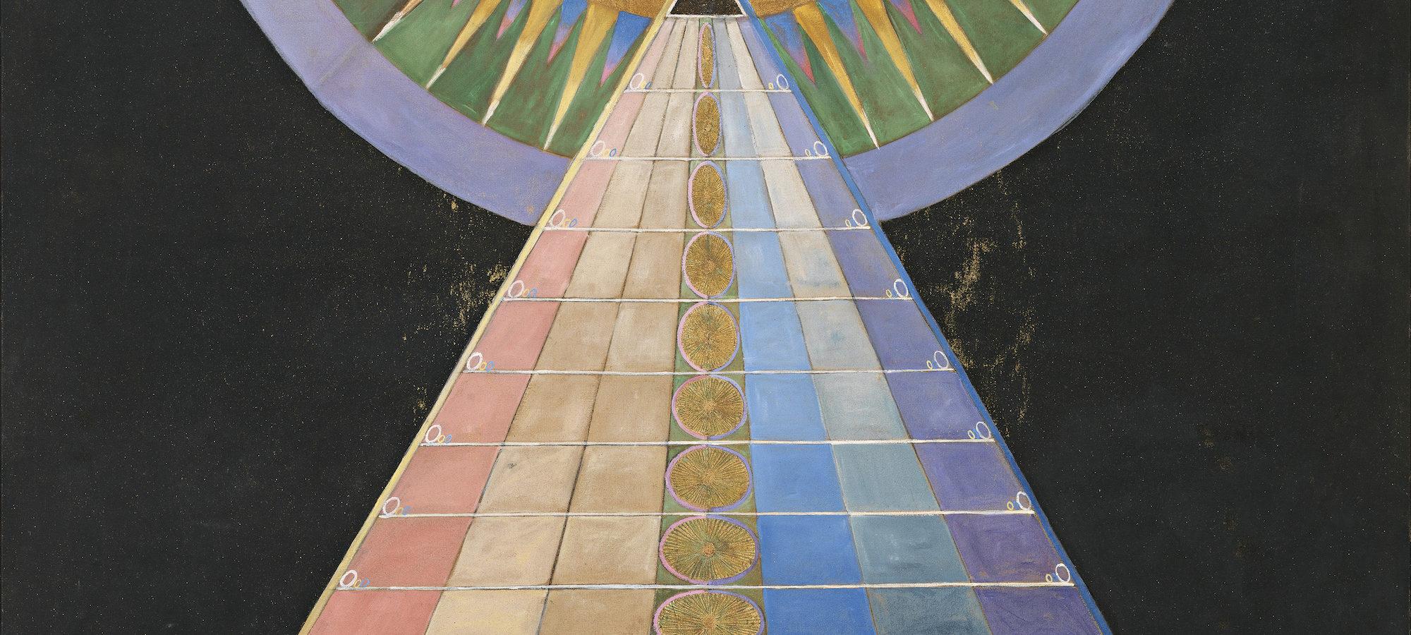 Hilma af Klint Group X, No. 1, Altarpiece (Grupp X, nr 1, Altarbild), 1915 from Altarpieces (Altarbilder). Courtesy The Hilma af Klint Foundation, Stockholm