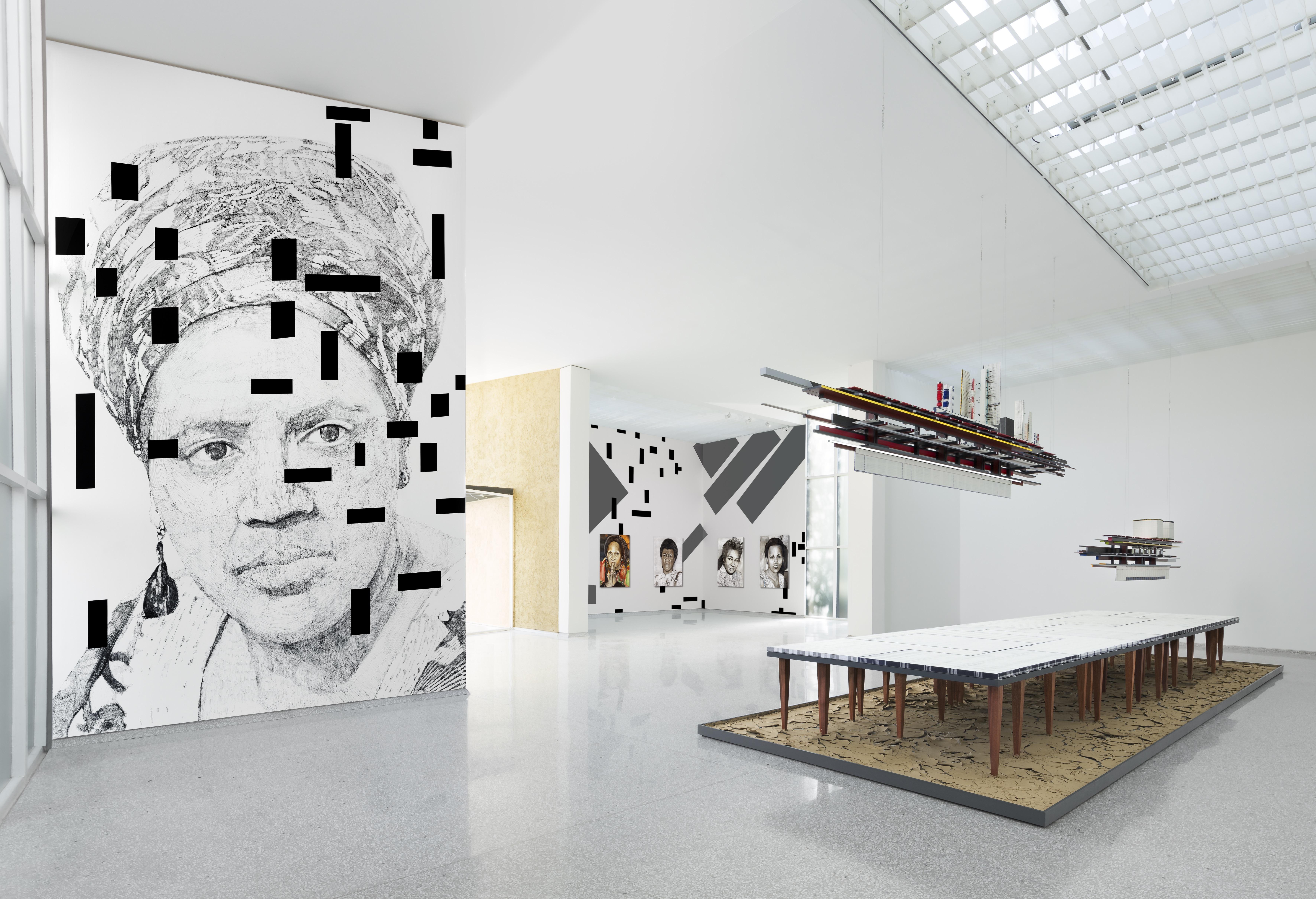 The Measurement of Presence, Iris Kensmil and Remy Jungerman, Dutch Pavilion, Venice Biennale, 2019. Photo by Gerrit Schreurs
