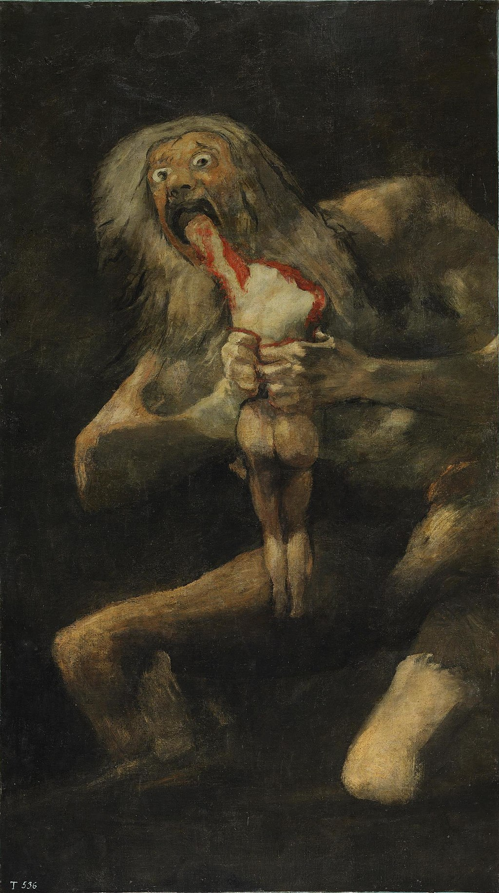 Francisco de Goya, Untitled, known as Saturn Devouring His Son, 1821-93