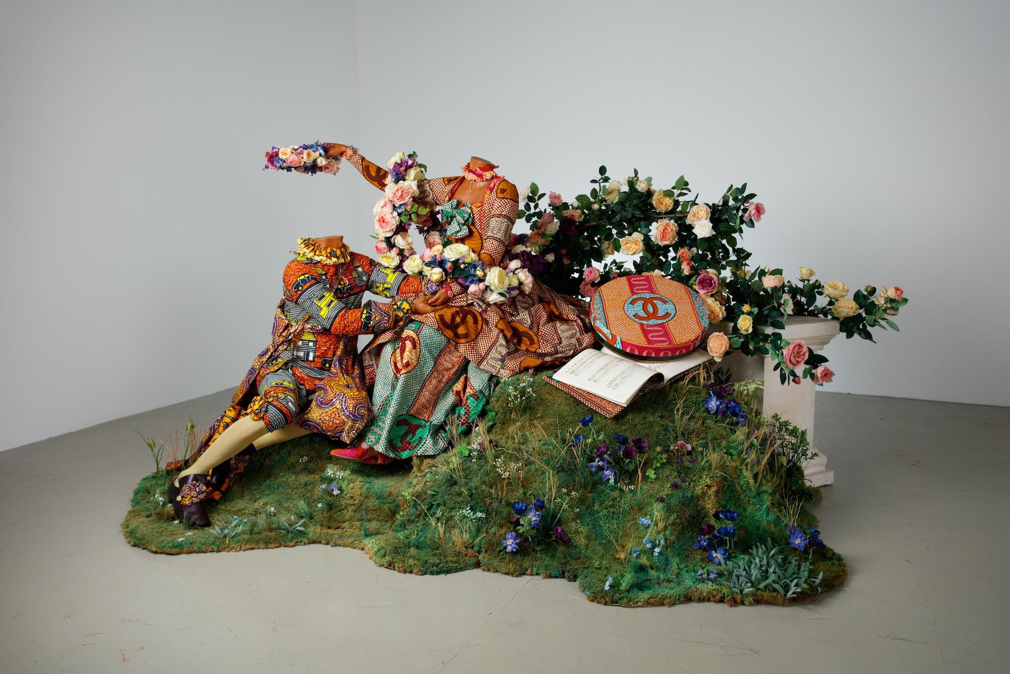Yinka Shonibare, The Crowing, 2007