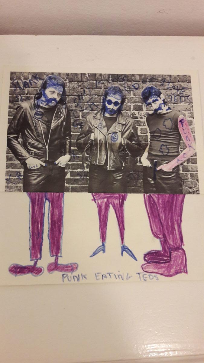 Poly Styrene's artwork
