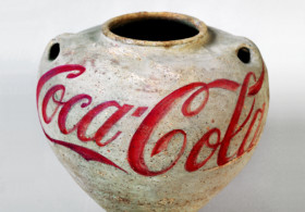 Ai Weiwei, Han Dynasty Urn with Coca-Cola Logo, 1993 © Ai Weiwei Studio Courtesy Lisson Gallery