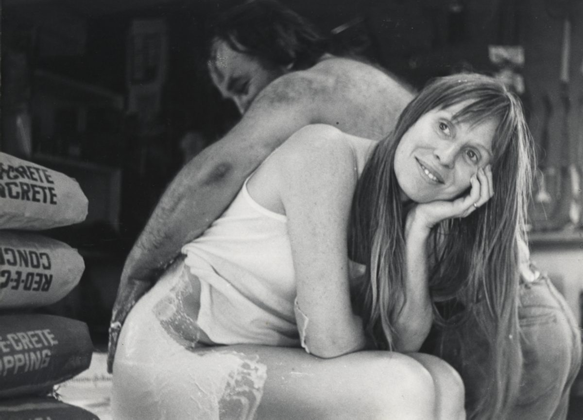 Heidi Bucher, Ed Kienholz, 1971