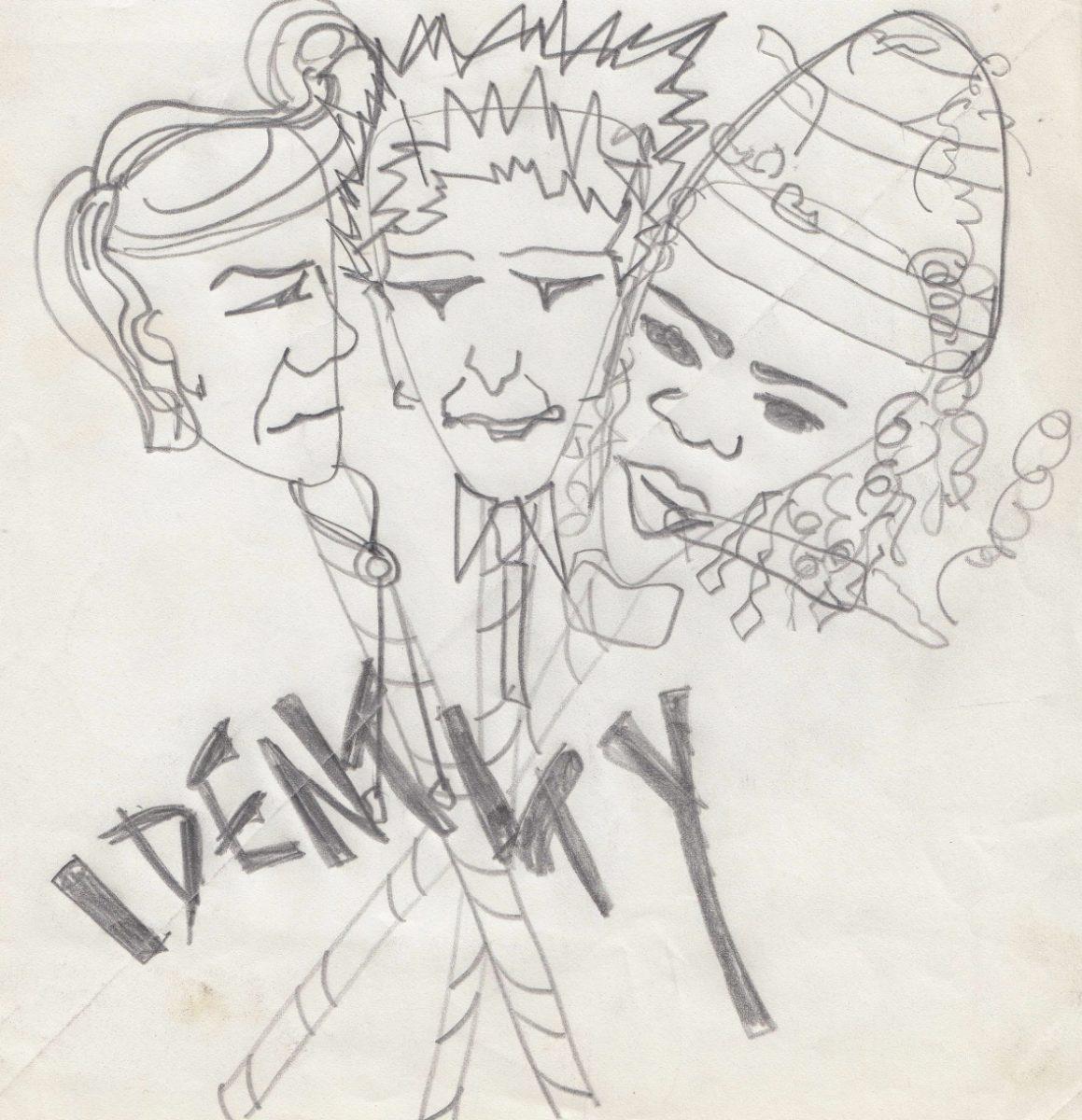 Poly Styrene's artwork for Identity