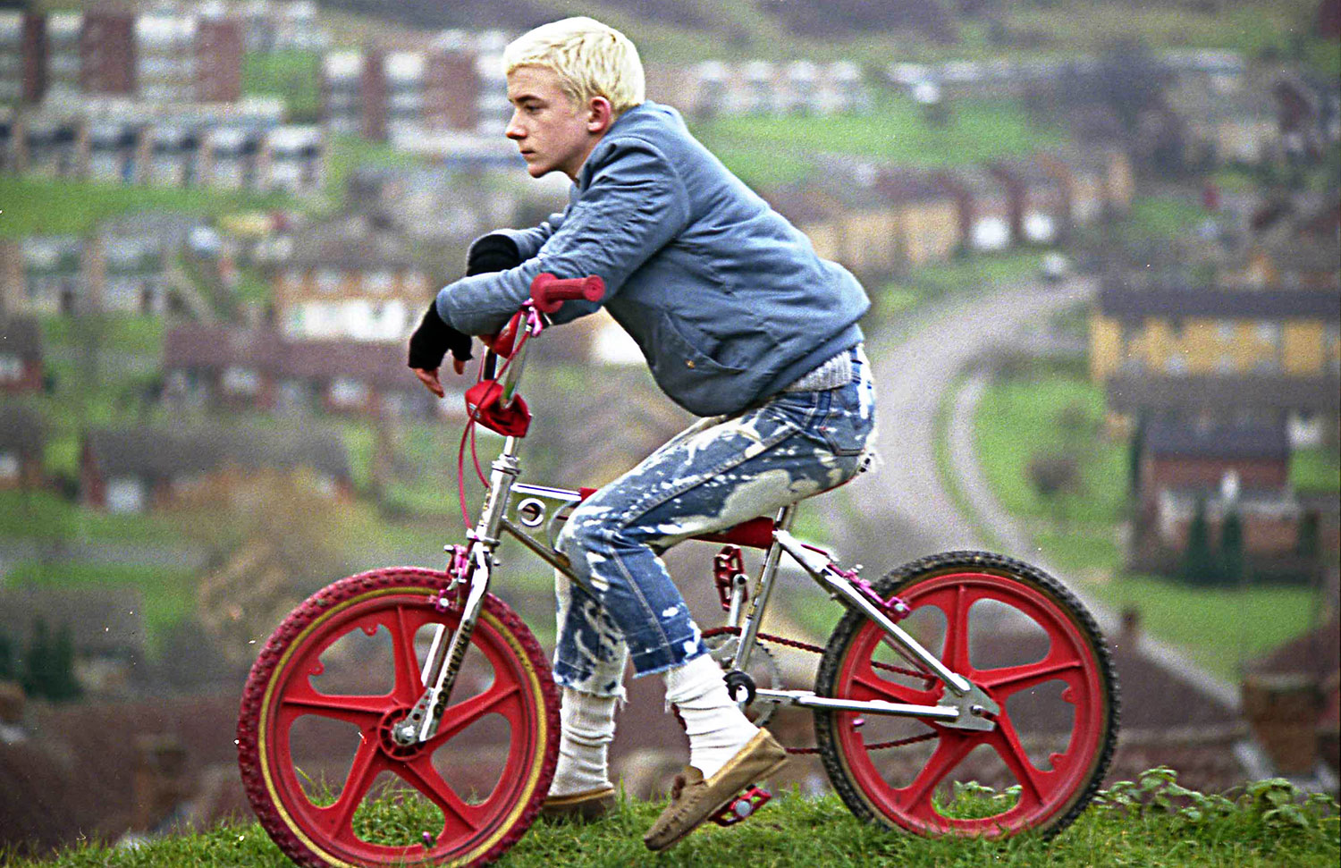 Gavin Watson, Neville Watson blond with BMX, from Oh! What Fun We Had