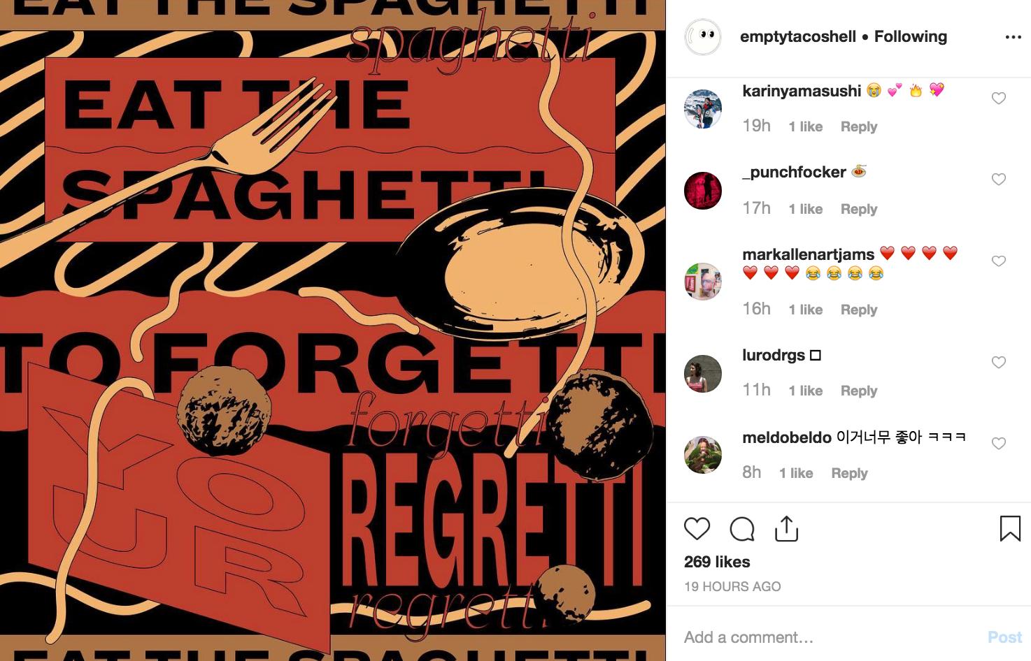 Soo Jin Lee Instagram screenshot