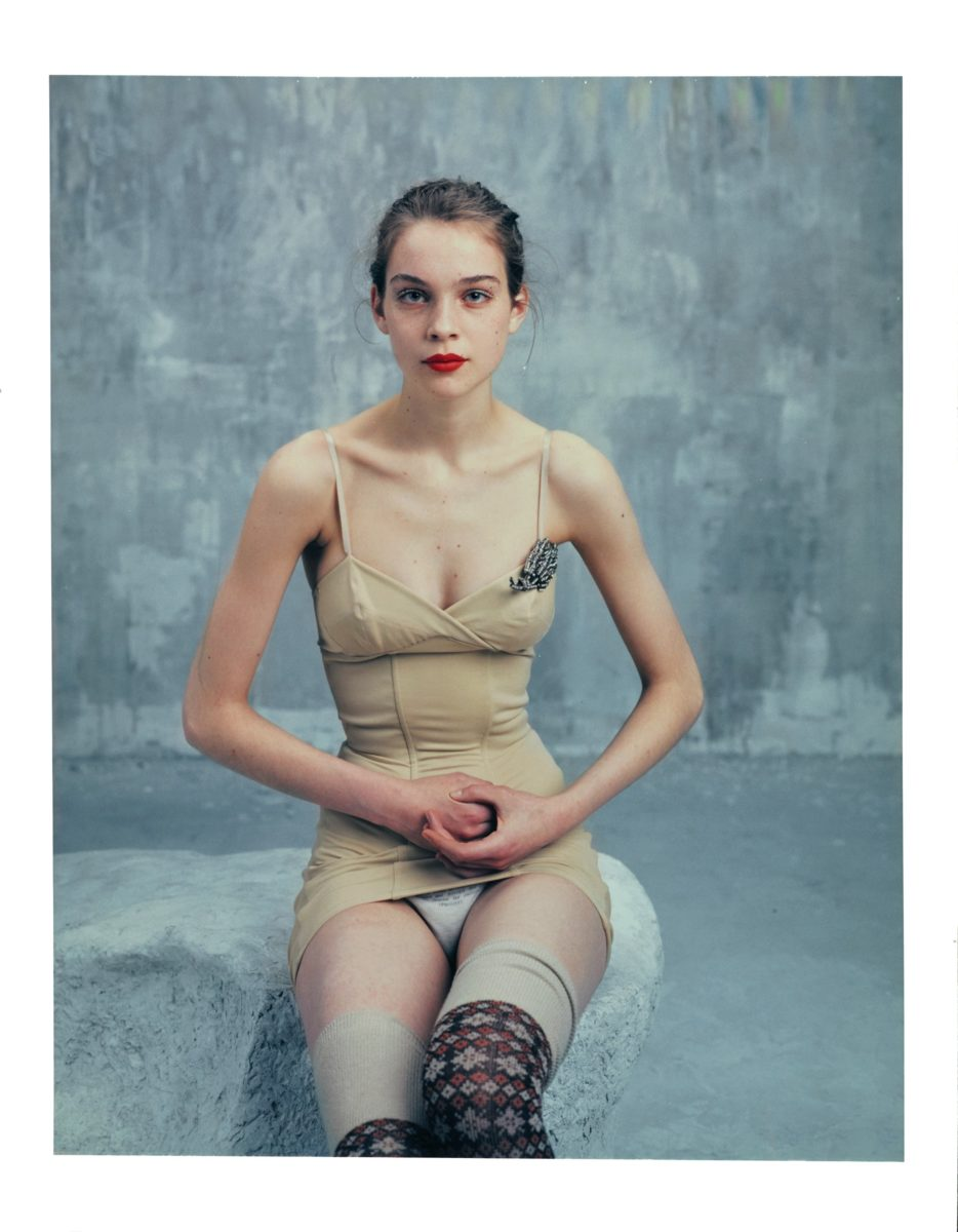 Bettina Rheims, Héroïnes Kim Noorda, Polaroid No 1, Mars 2005, Paris, Courtesy Xippas