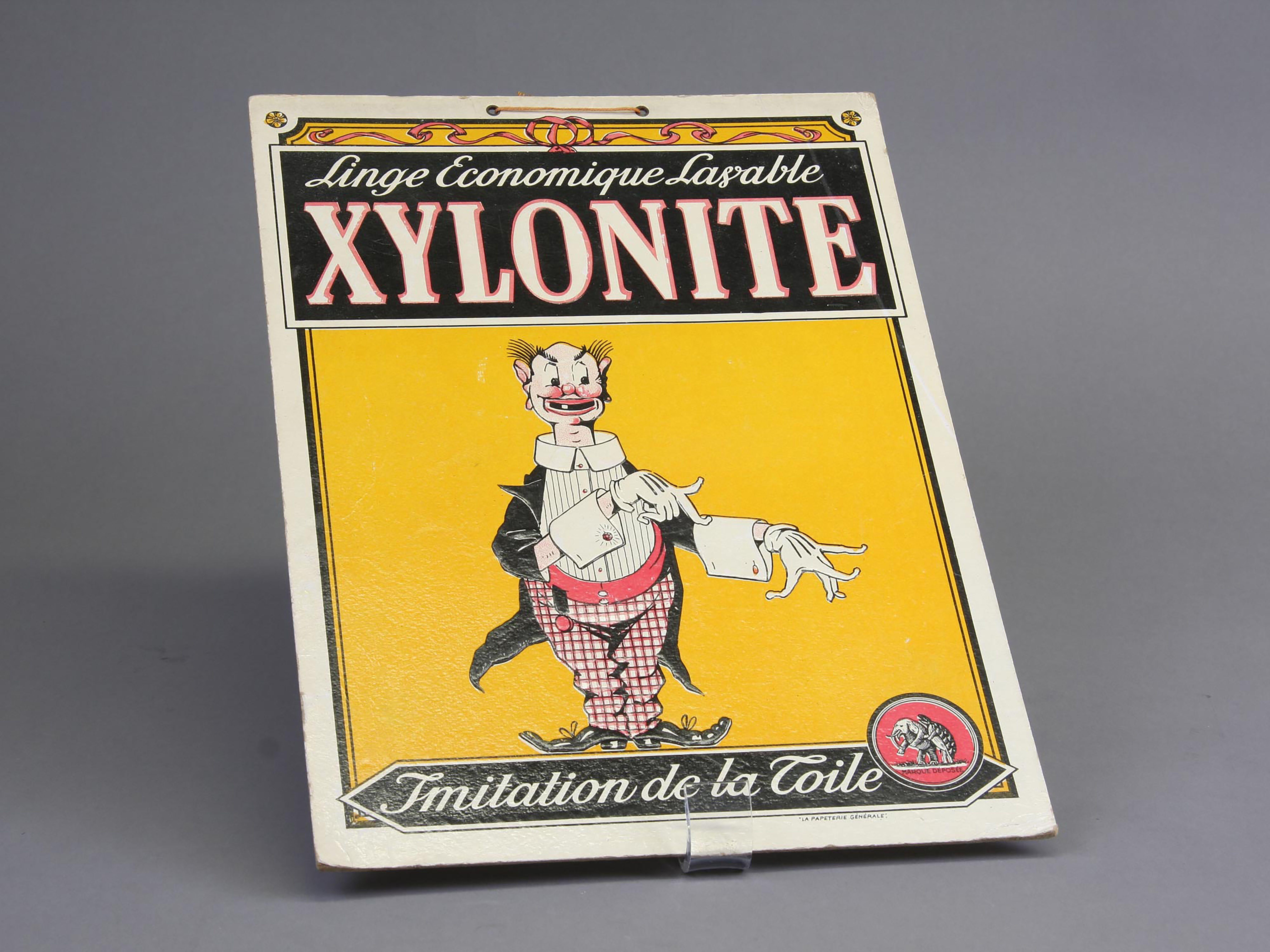 Xylonite Advert