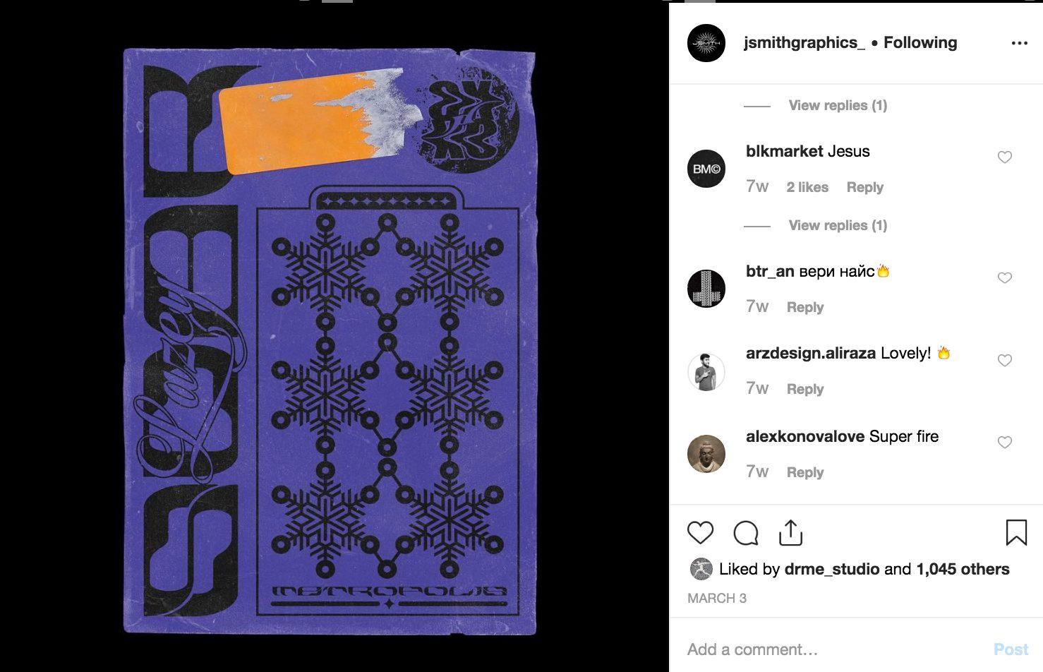 Jack Smith Instagram screen shot