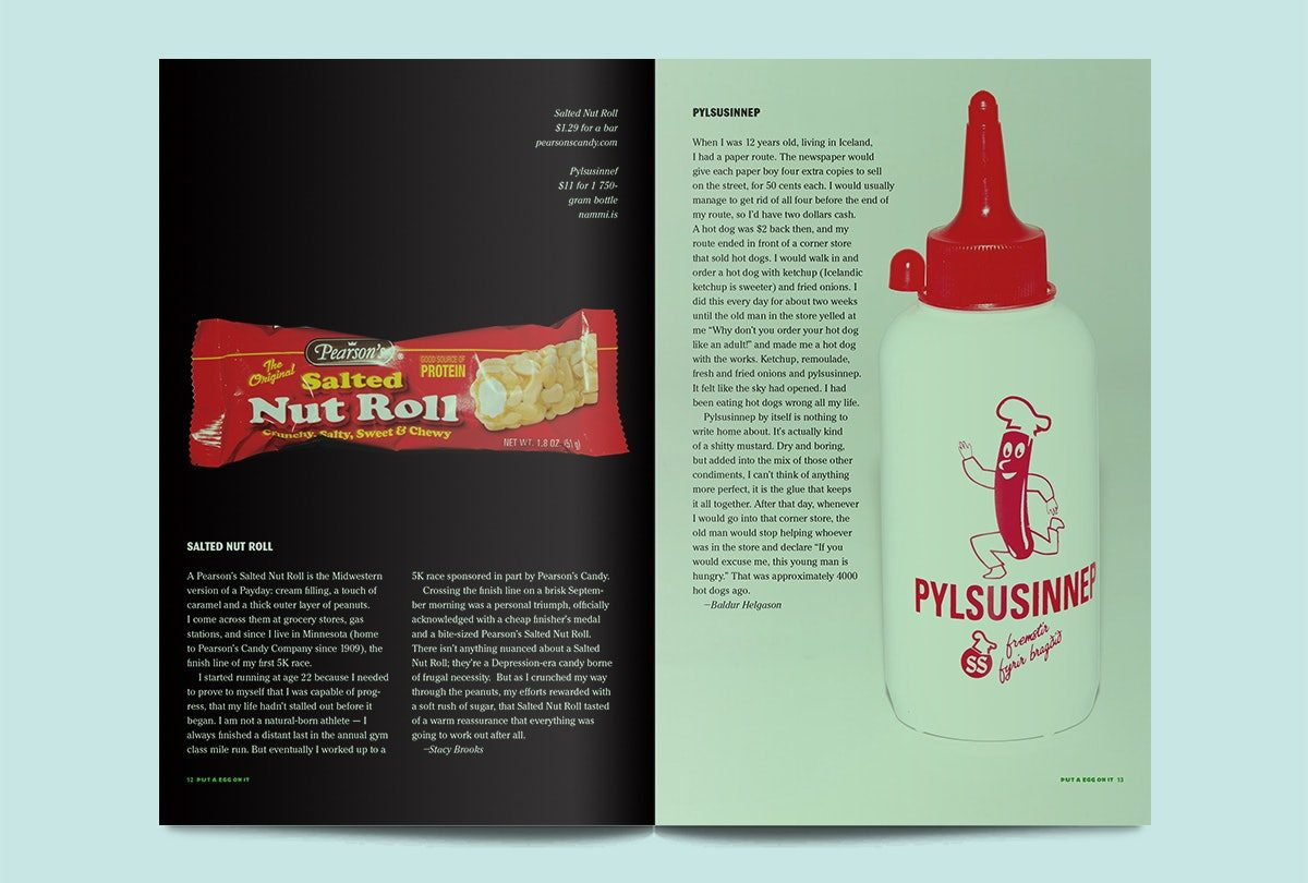 Put An Egg On It Issue 14 Spreads