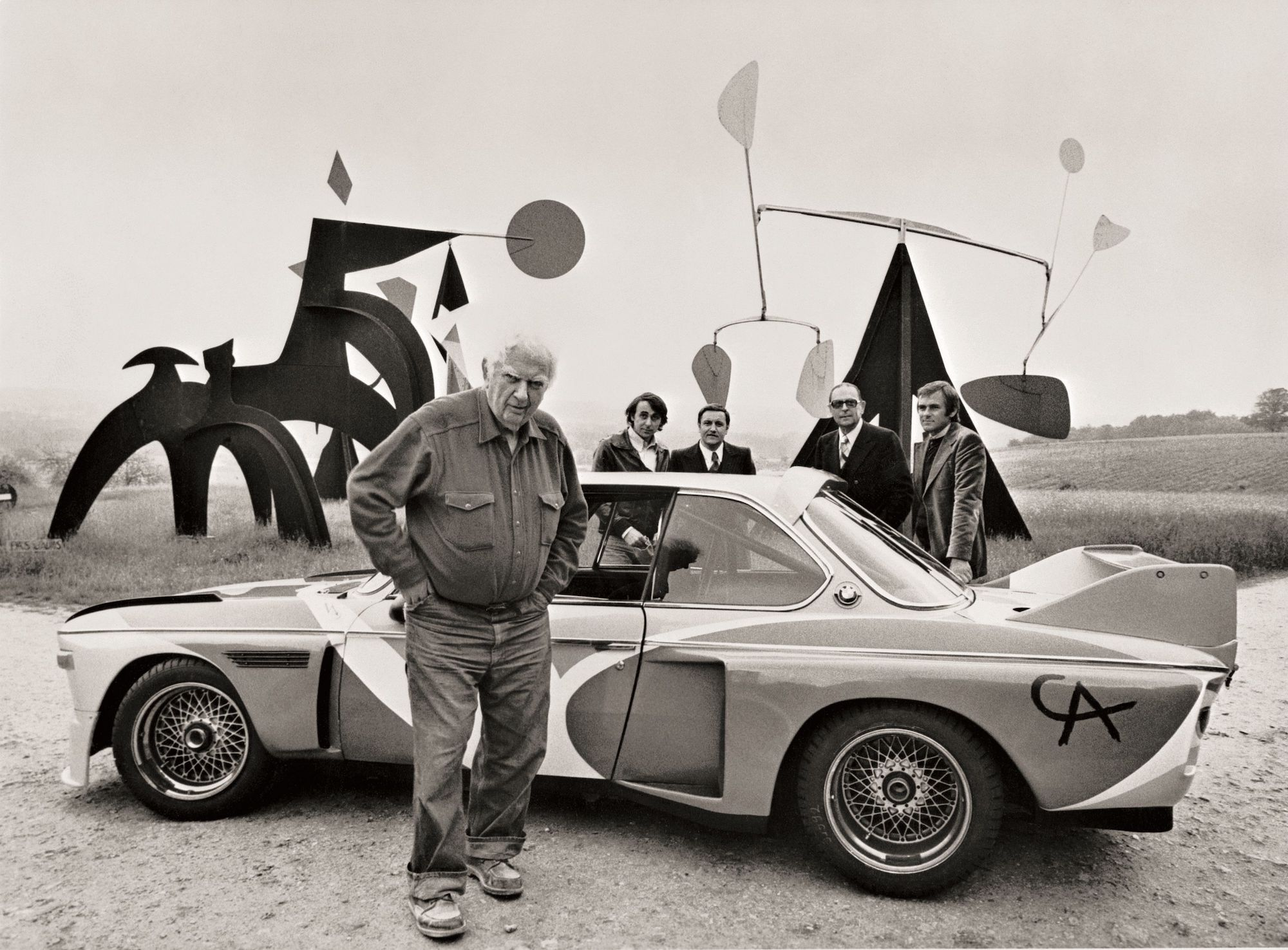 Alexander Calder, Art Car, 1975 © BMW