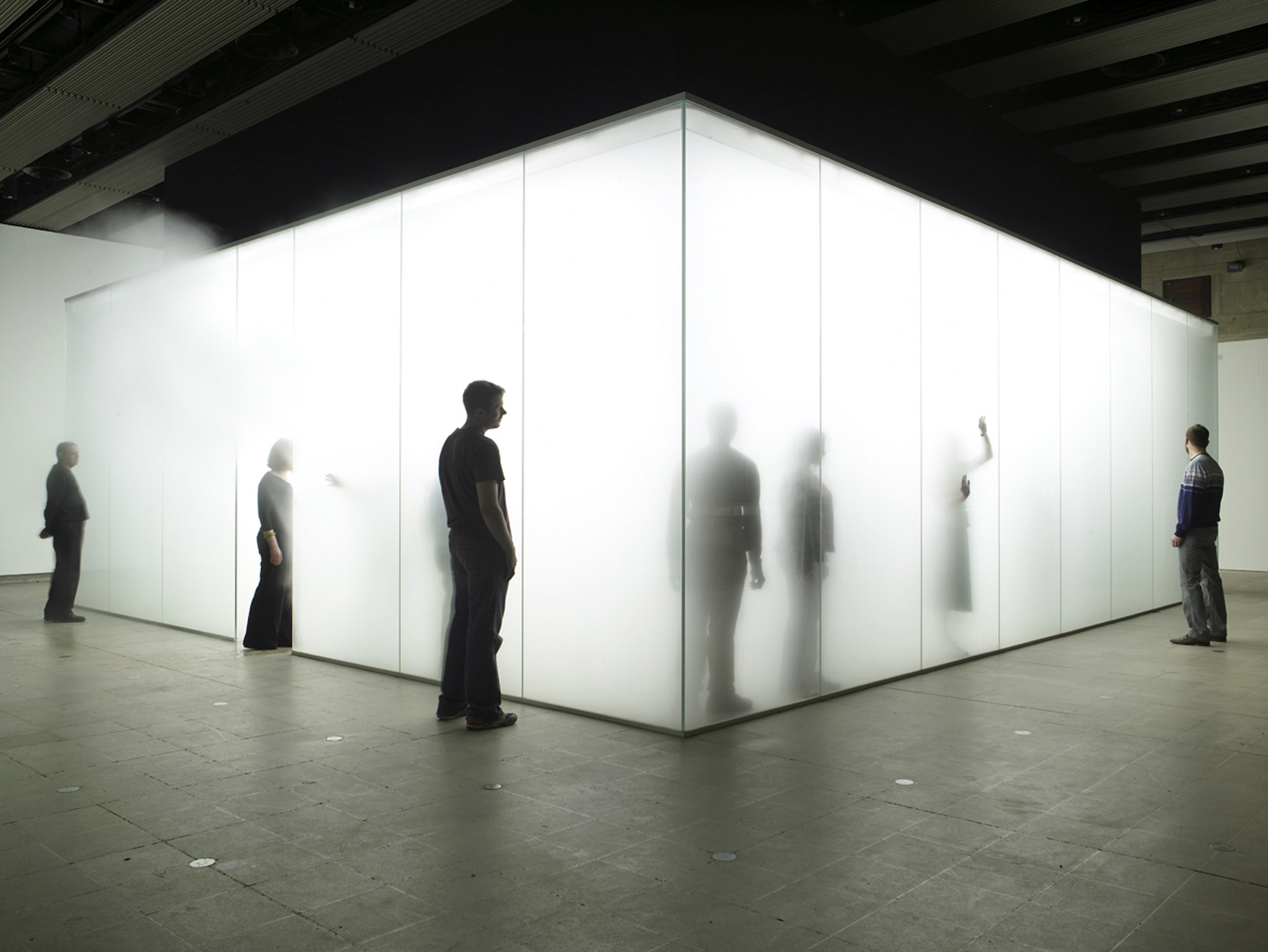 Antony Gormley, Blind Light, 2007