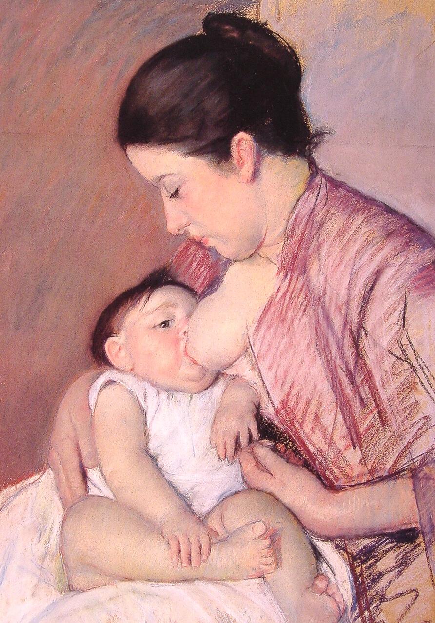 Mary Cassatt, Maternité, 1890