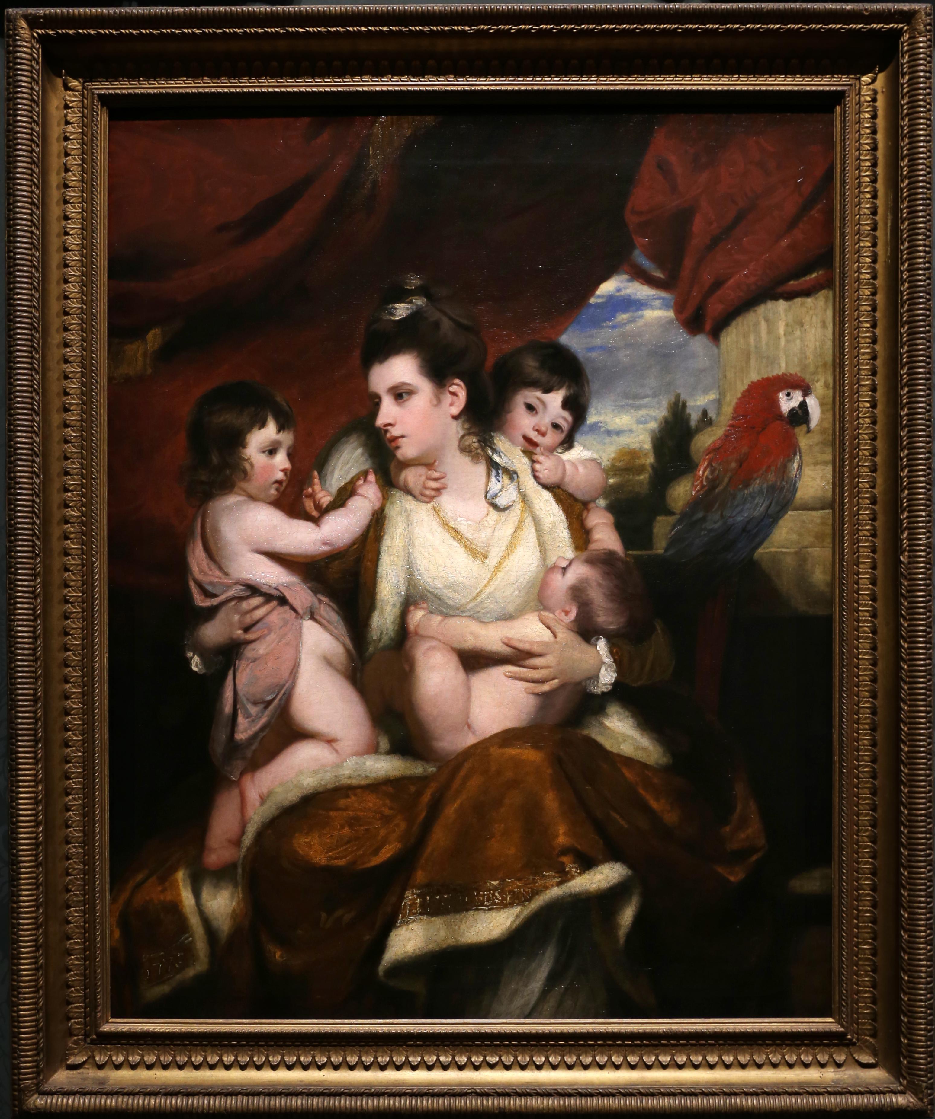 Sir Joshua Reynolds, Lady Cockburn and her Three Eldest Sons, 1773