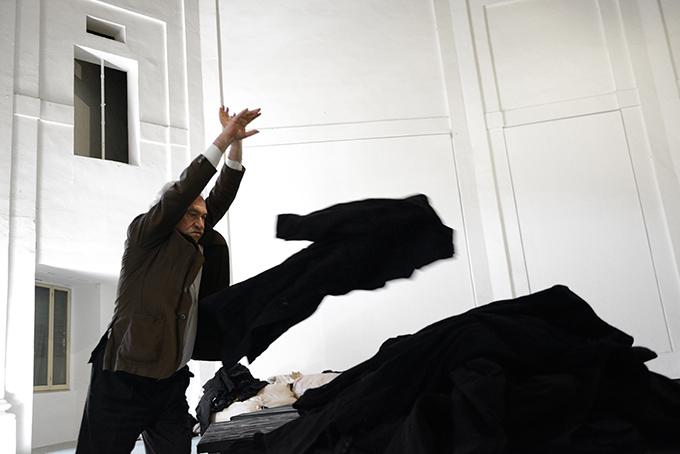 Jannis Kounellis, Centro Arti Visive Pescheria, 2016. Photograph by Michele Alberto Sereni