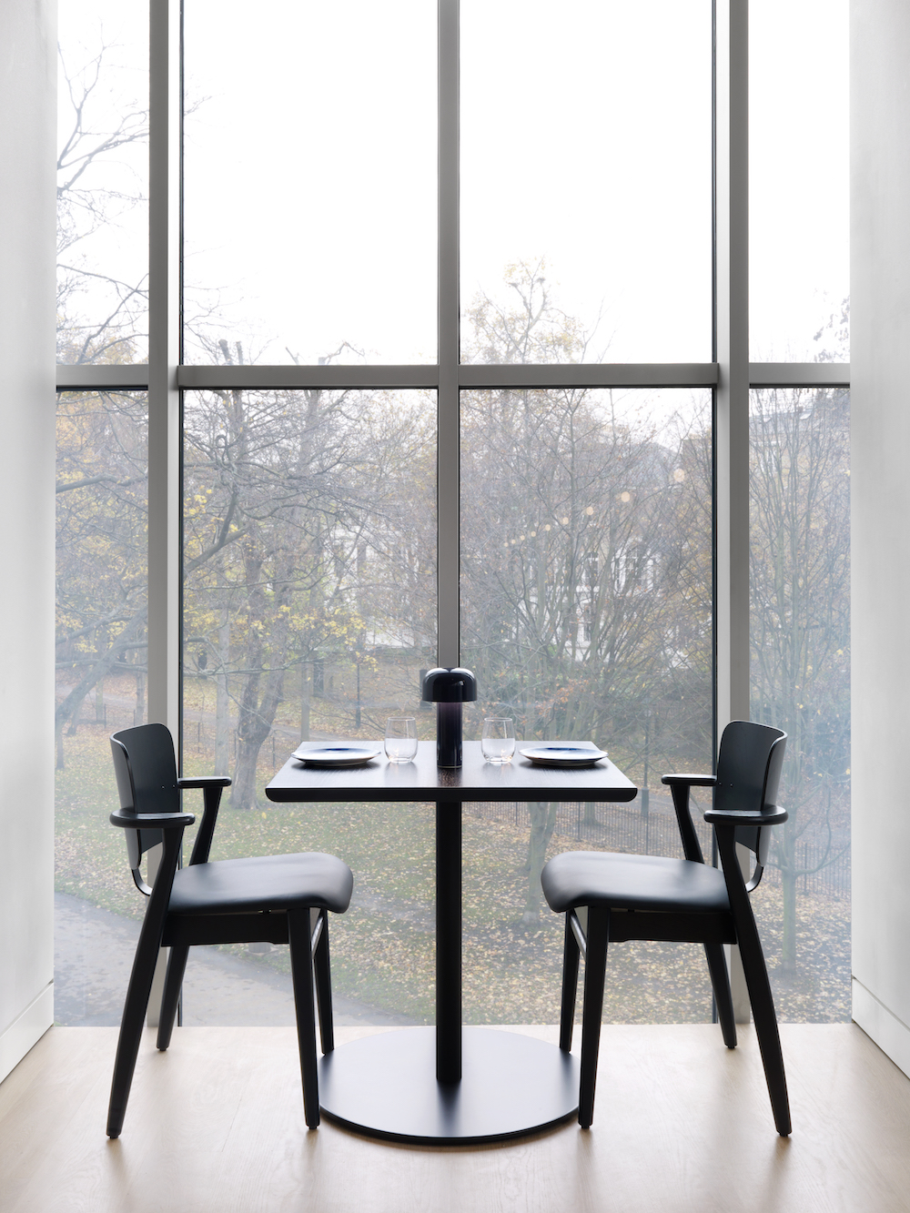 The new Design Museum restaurant, Parabola, designed by Universal Design Studio. Courtesy Charles Hosea