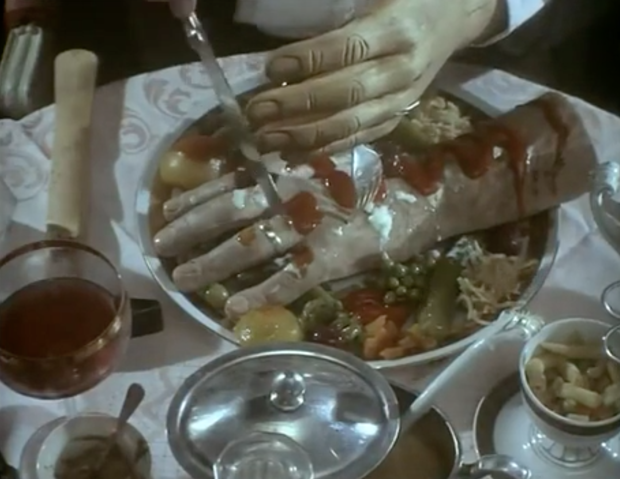 Jan Svankmajer, Food, 1992, still