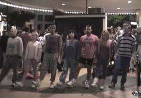 Fatboy Slim Praise You, directed by Spike Jonze, still
