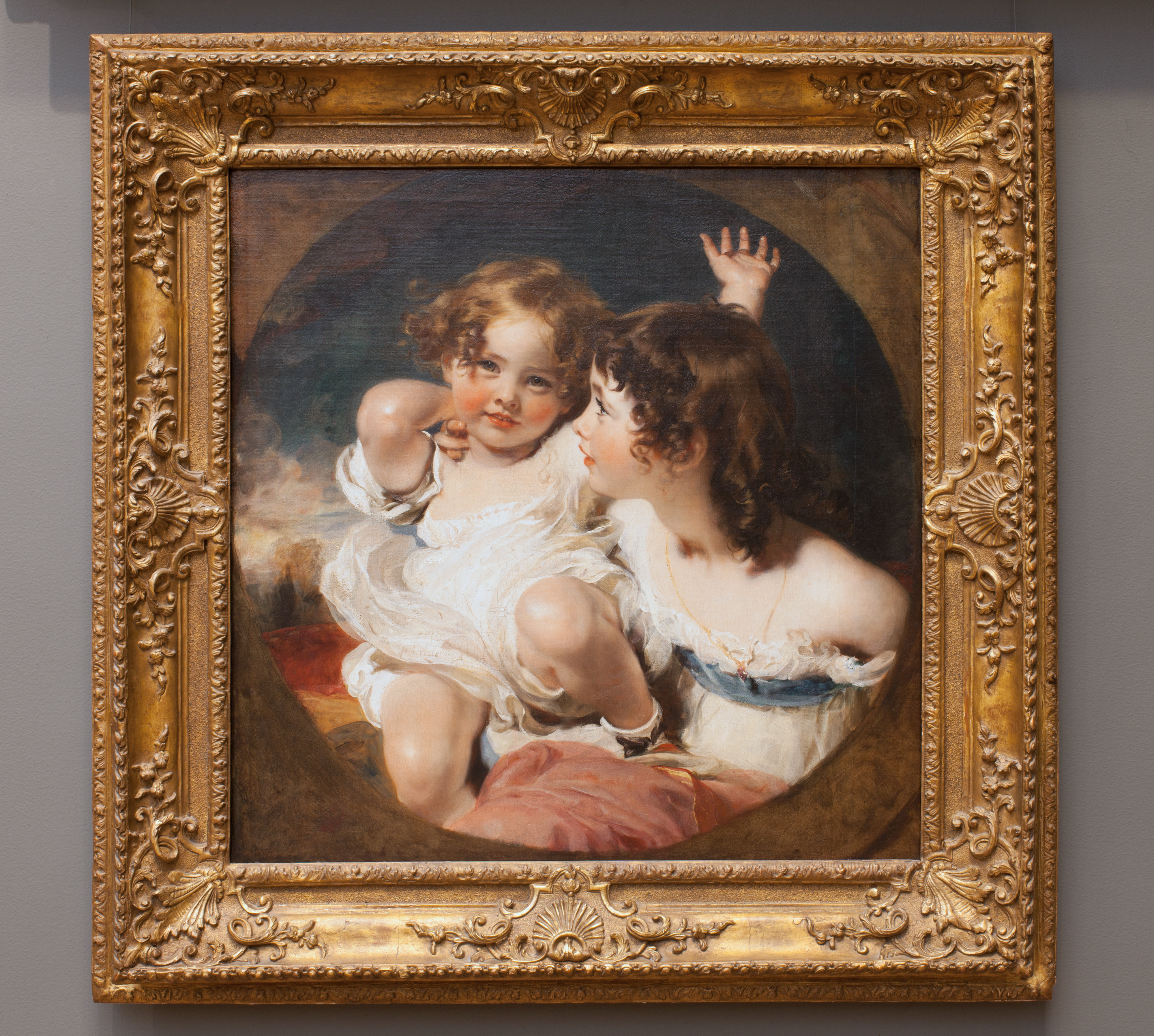 The Calmady Children (Emily, 1818–1906, and Laura Anne, 1820–1894),1823