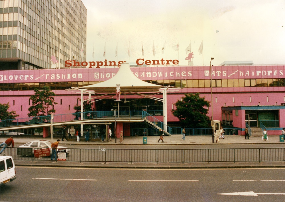 Eva Sajovic, Elephant and Castle shopping centre, archival image