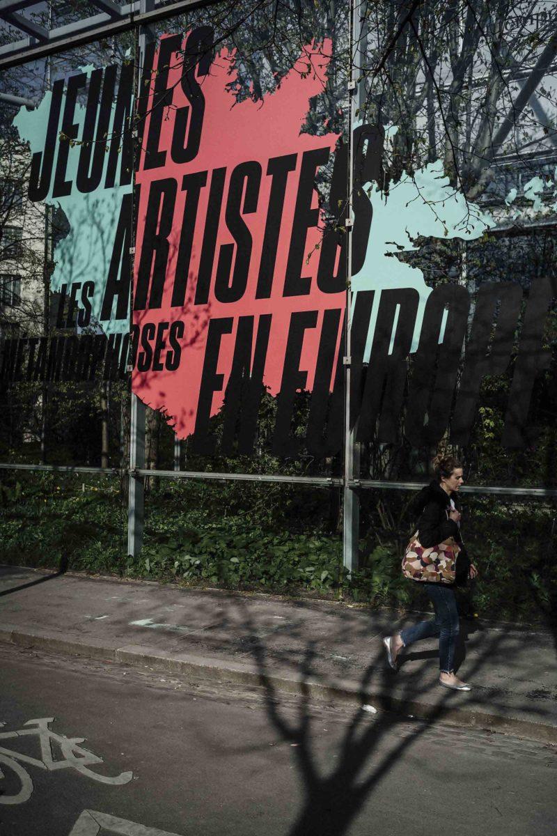 Fondation Cartier pour l'art contemporain.  Jeunes artistes en Europe, Les Métamorphoses.
