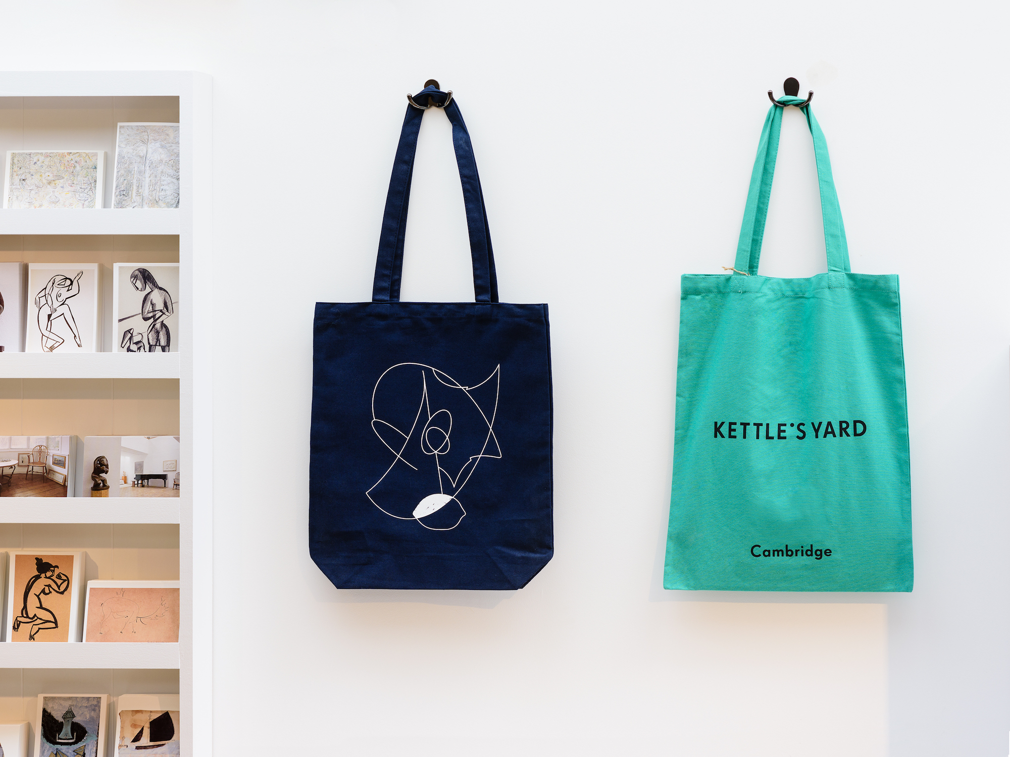 Kettle's Yard tote bag design by APFEL