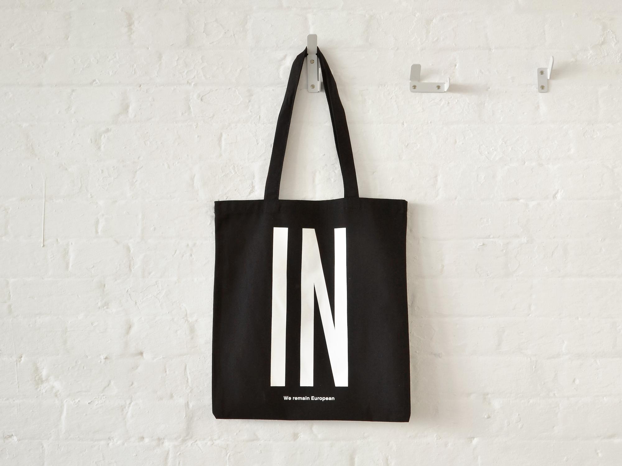 Pro-European Union bag by APFEL