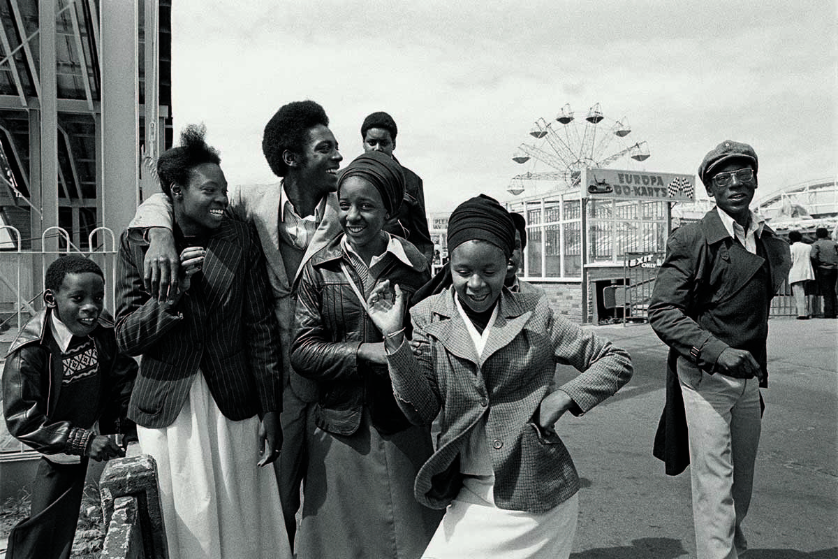 Untitled, from the series Day Out, 1974 © Vanley Burke. Courtesy Vanley Burke