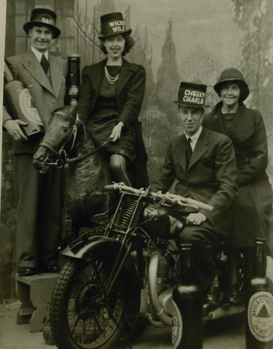 Charles Howell. Blackpool postcard portrait, 1939 Charles Howell. Courtesy Bob Pullen