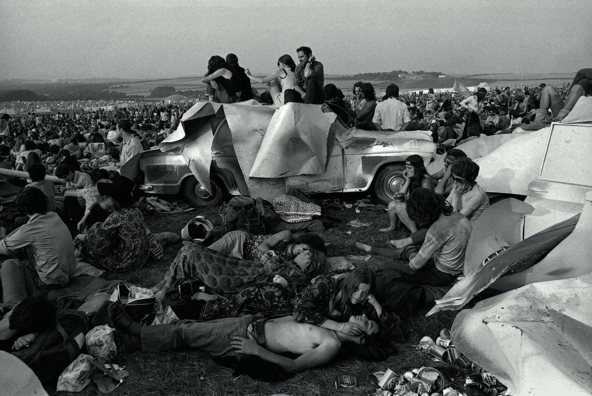 Isle of Wight Festival, 1970 © Enzo Ragazzini