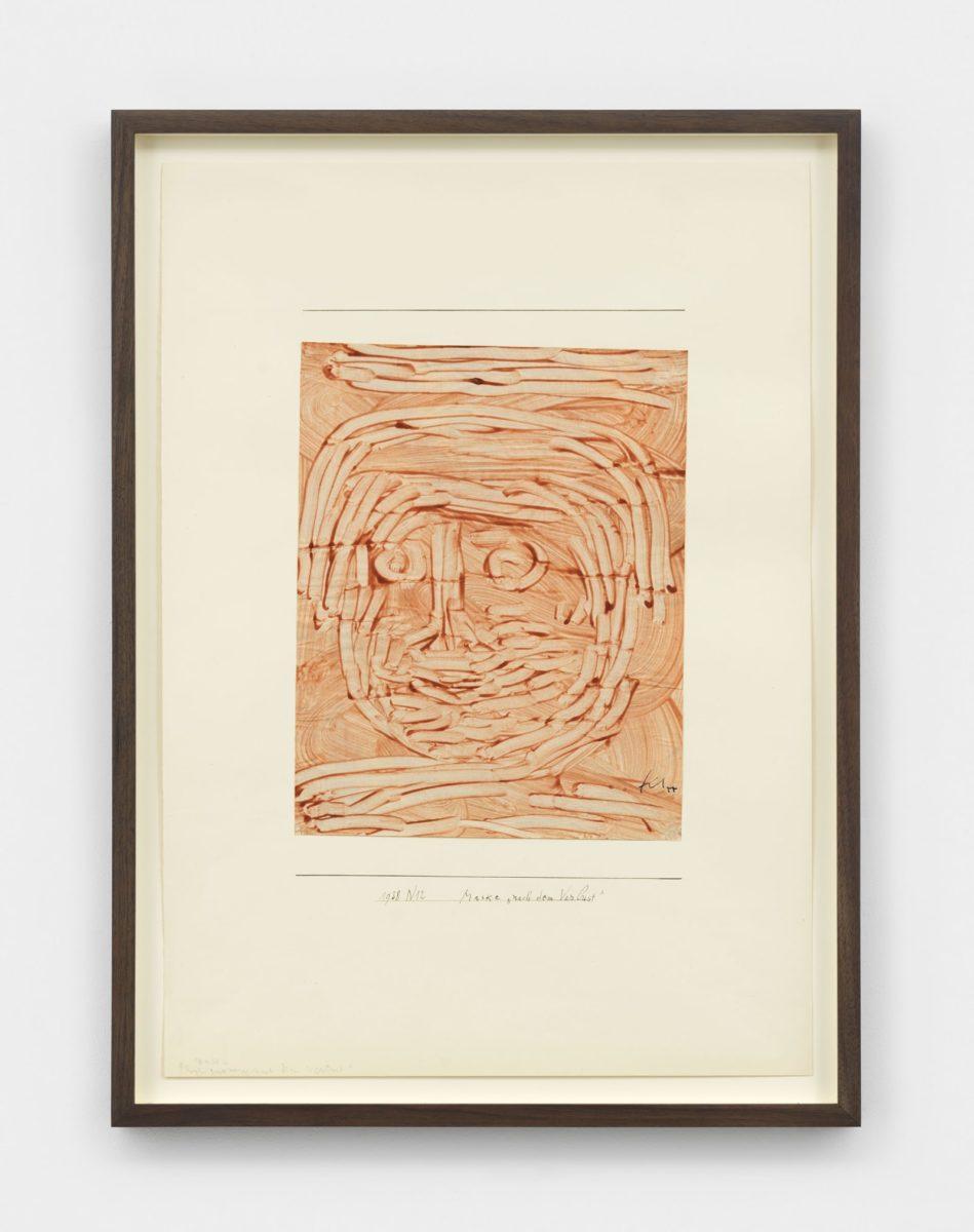 Paul Klee, Maske