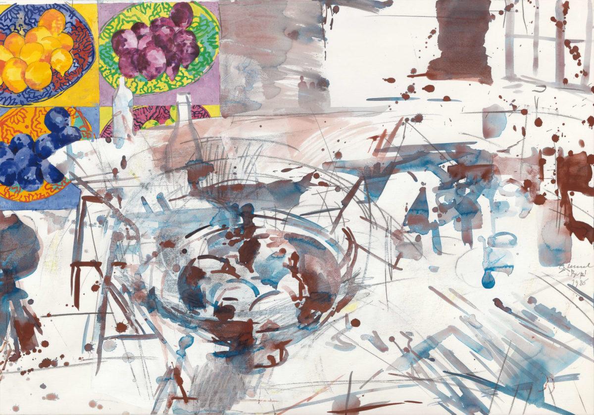 Samuel Buri, Contre-Jour, 1980, Galerie Carzaniga