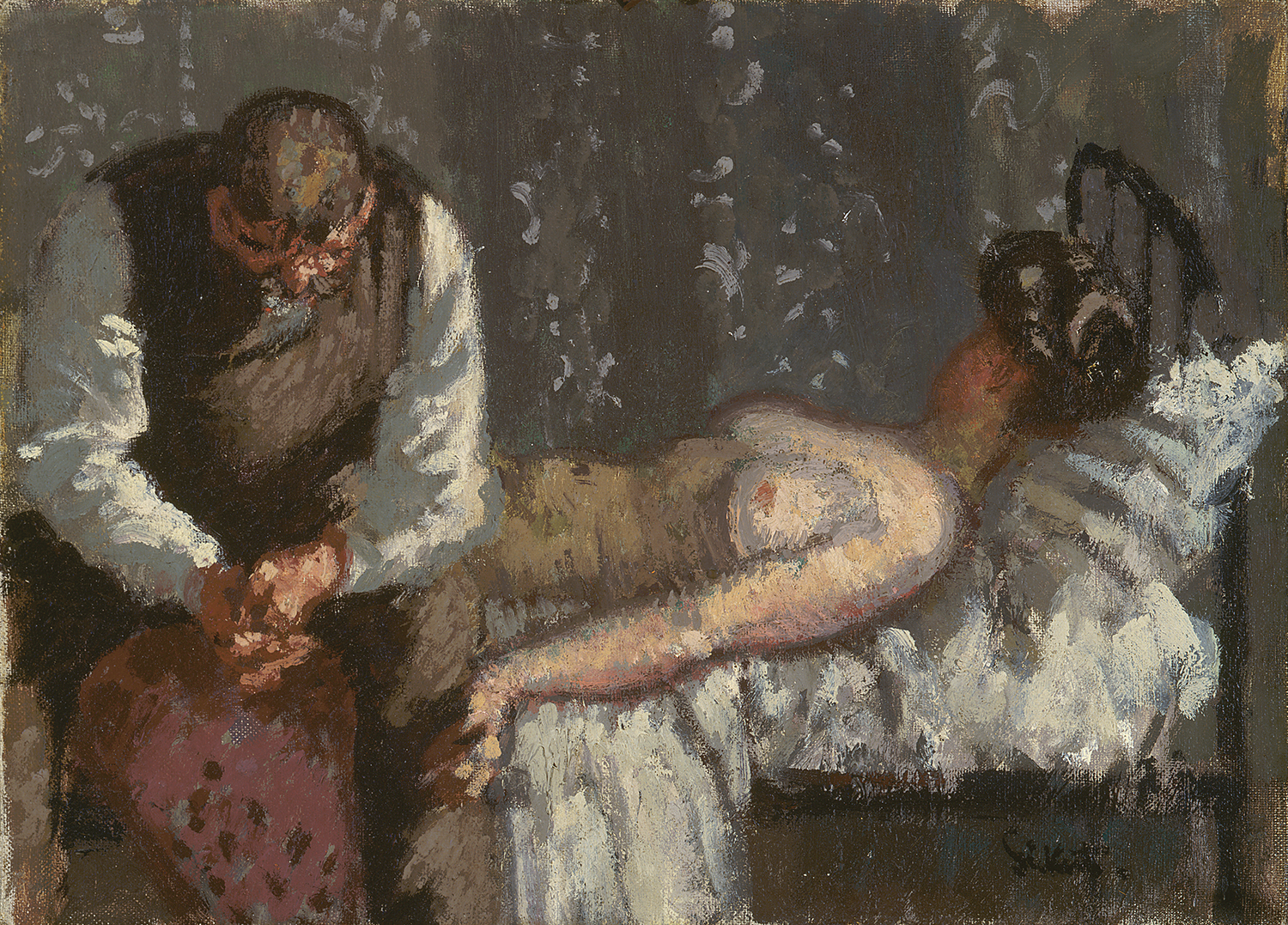 Walter Richard Sickert, The Camden Town Murder or What Shall We Do for the Rent?, c. 1908. Yale Center for British Art, New Haven