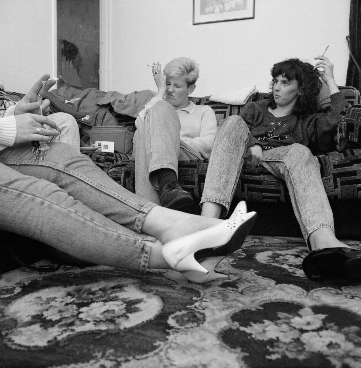Ken Grant, Lisa and Tracy's Sister, Birkenhead, 1990 From Home Sweet Home exhibition