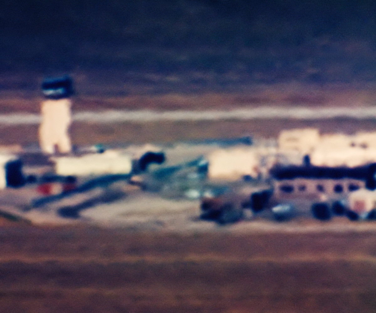 Control Tower (Area 52); Tonopah Test Range, NV; Distance ~ 20 miles; 11:55 a.m., 2006