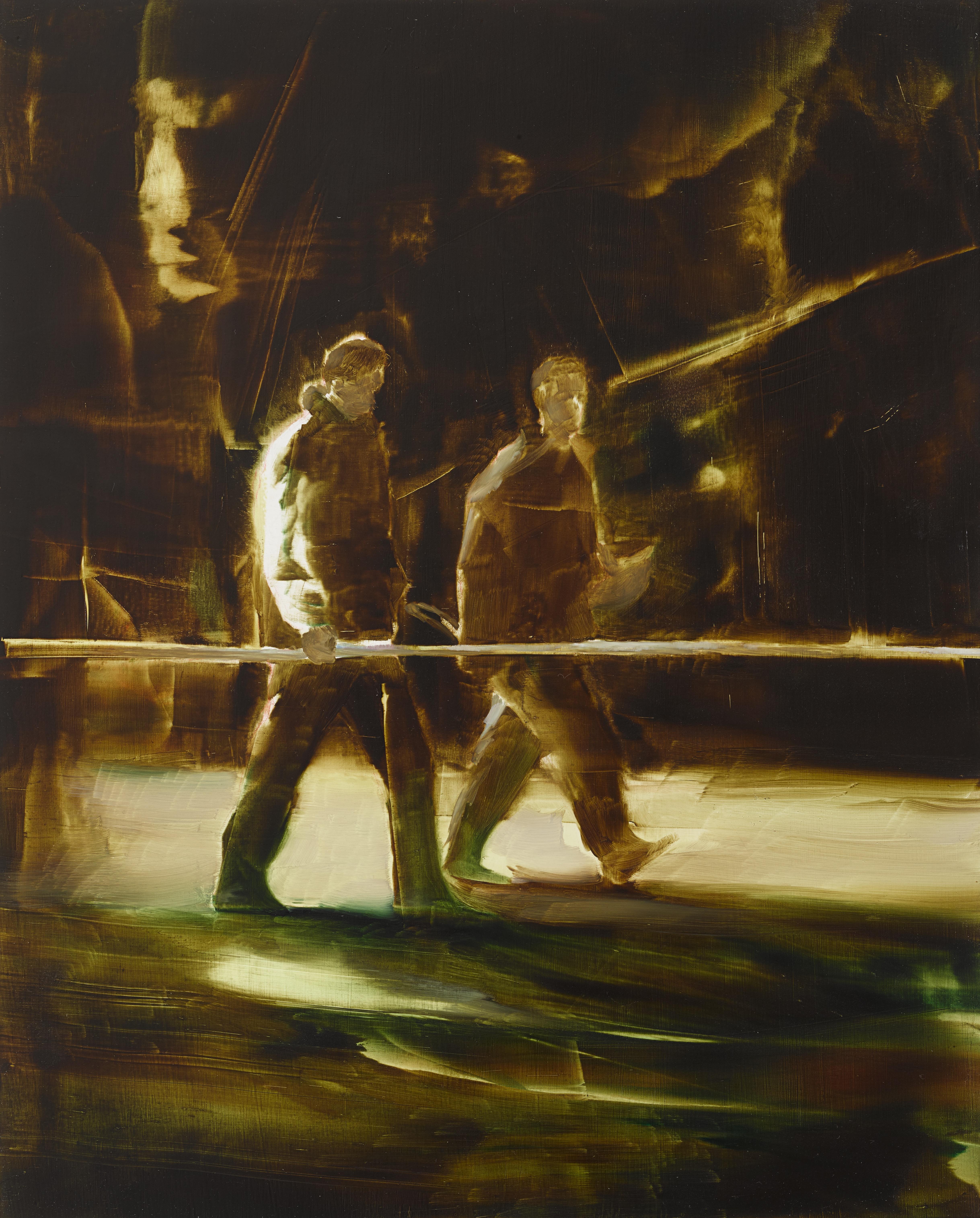 Genre Painting Study 5 - R, 2017