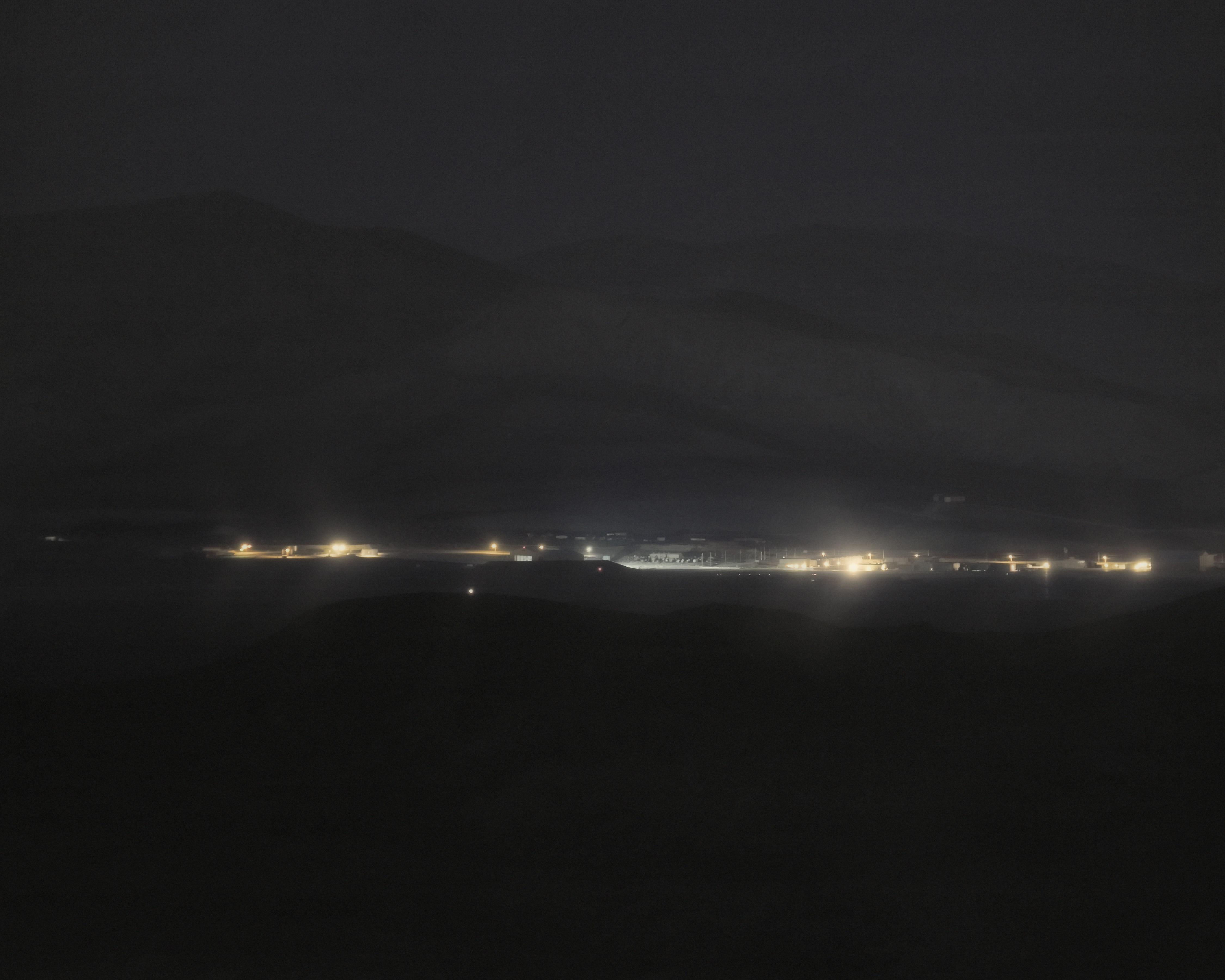 Detachment 3, Air Force Flight Test Center #2; Groom Lake, NV; Distance ~ 26 Miles, 2008