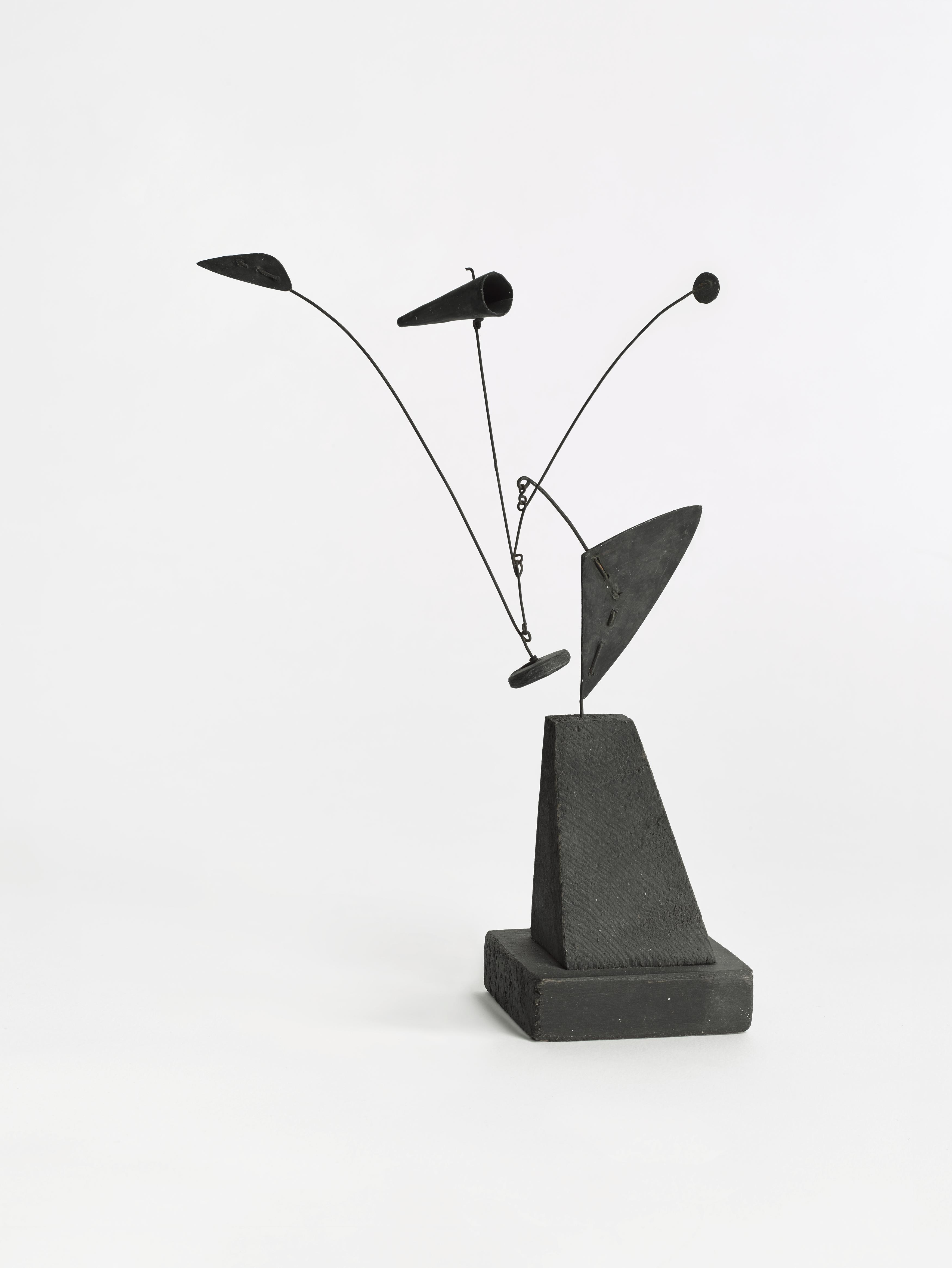 Alexander Calder. Untitled (maquette), 1939 © 2019 Calder Foundation, New York / VEGAP, Santander