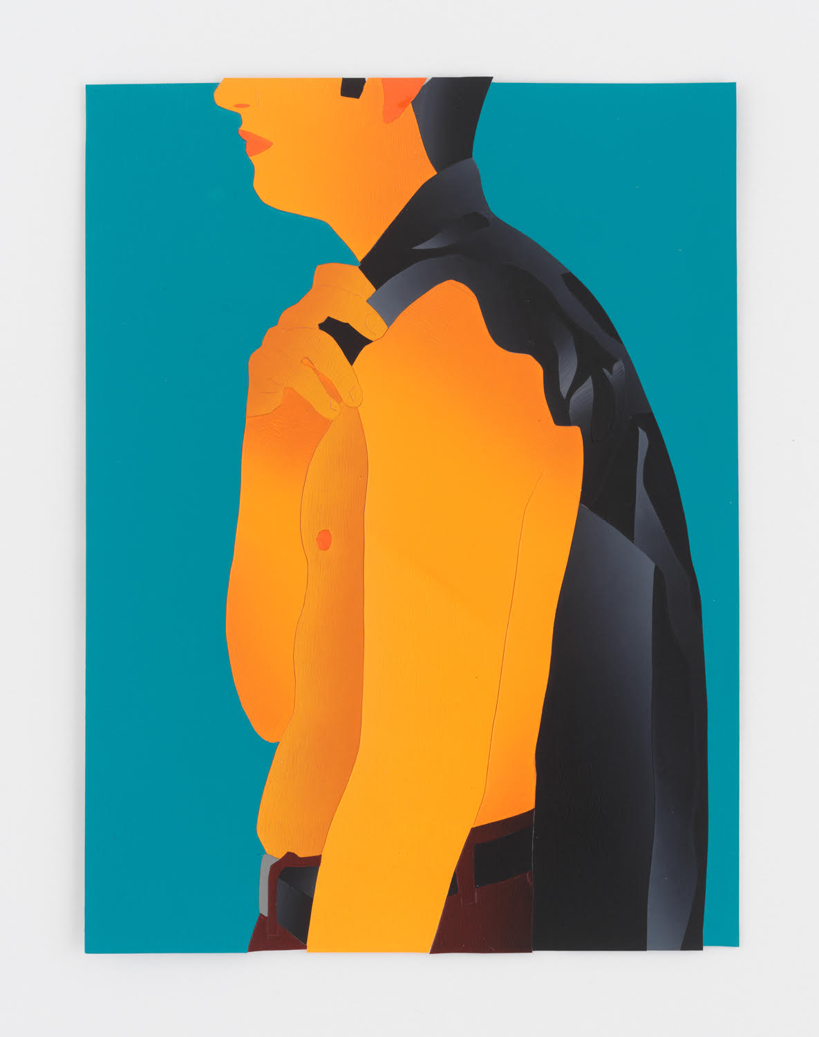 Anthony Iacono, Jacket, 2019, courtesy Marinaro Gallery