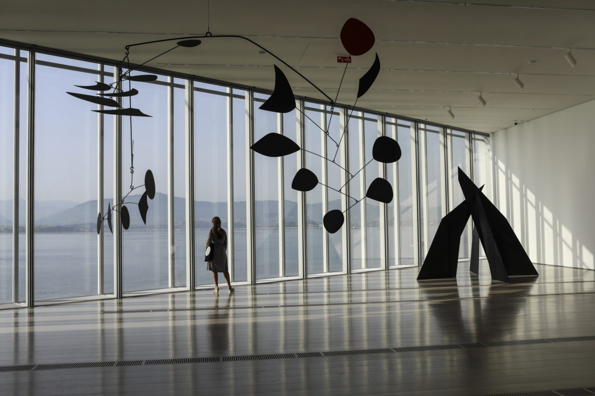 Calder Stories at Centro Botin, Santander, installation image. Photo:  Belén de Benito
