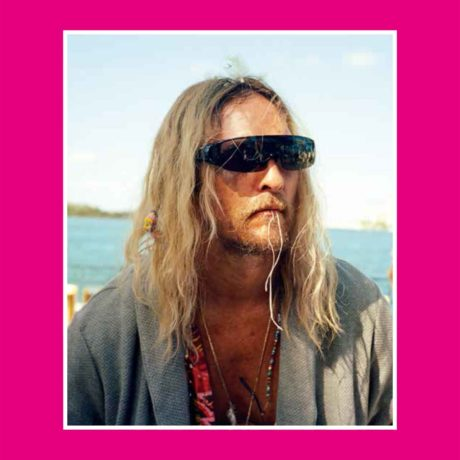 Moondog, Key Zest, from the movie Beach Bum by Harmony Korine. Lithography by Marjeta Morinc. Photography by Sam Haynes.