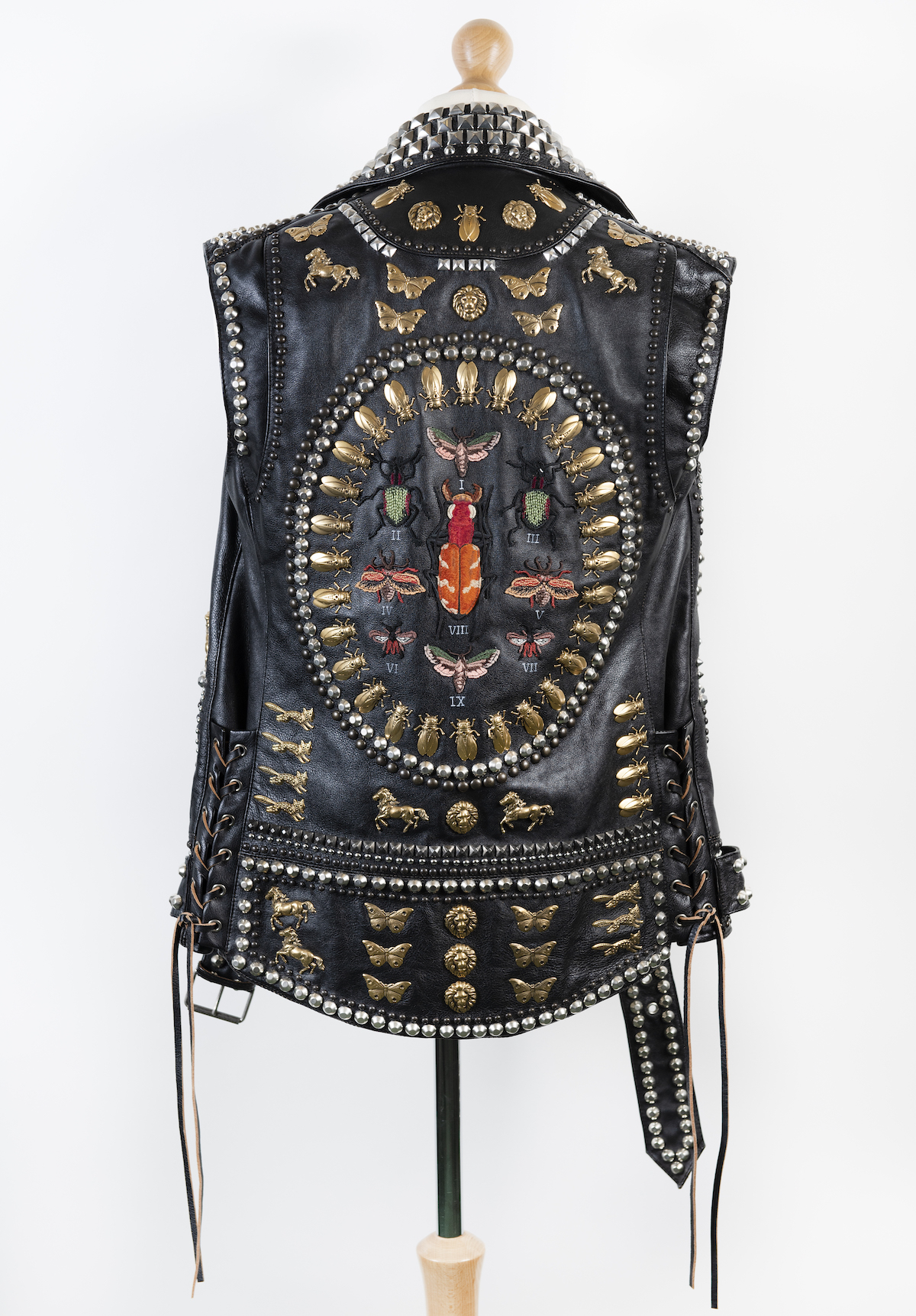 Ozzy Osbourne Gucci leather waist coat worn Courtesy of Sharon and Ozzy Osbourne - No More Tours 2 2018 © Copyright Home of Metal
