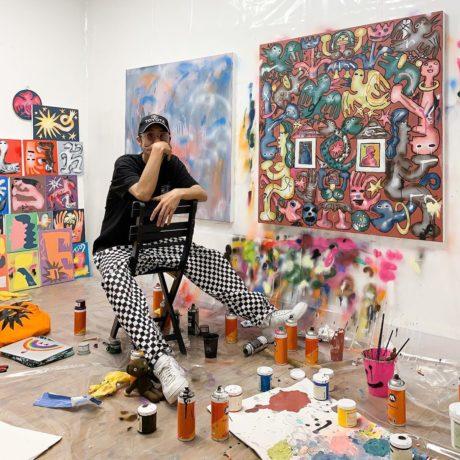 Kentaro Okawara, Studio Portrait, 2019 Courtesy Public Gallery