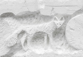 Lin May Saeed, Small Fox Relief, 2019. Courtesy: Private Collection Photo: by Wolfgang, Günzel