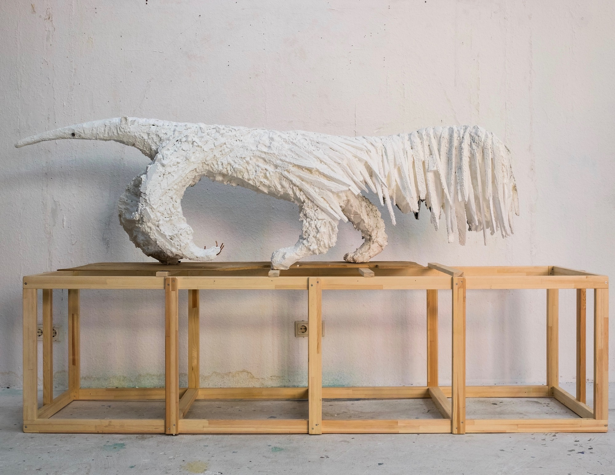 Lin May Saeed, Ameisenbaer /Anteater, 2018. Courtesy Jacky Strenz, Frankfurt; Nicolas Krupp, Basel and the artist